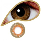 Oak Brown 1 Month Natural Coloured Contact Lenses (MesmerEyez)