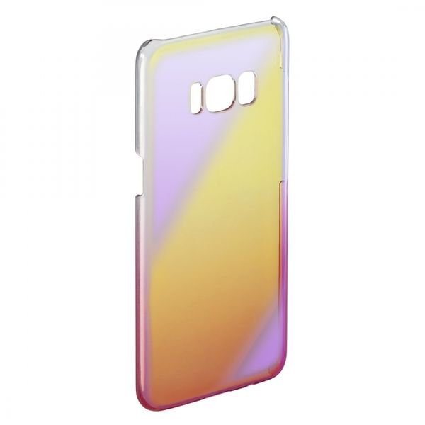 Hama Mirror Cover for Samsung Galaxy S8, Yellow/Pink - Image 2