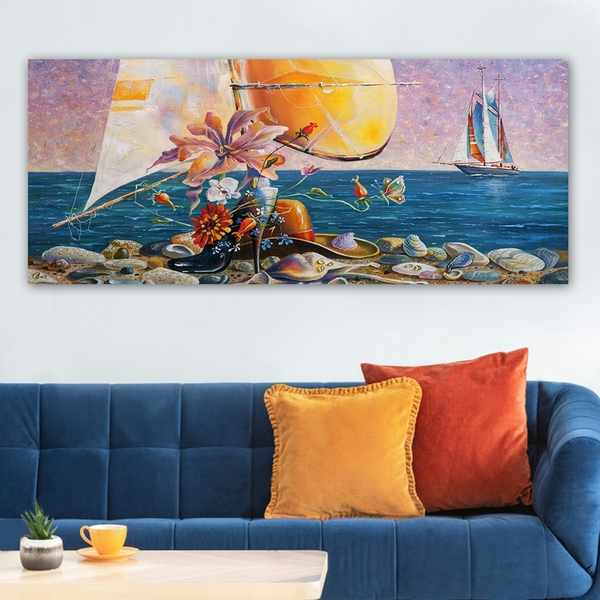 YTY1101741929_50120 Multicolor Decorative Canvas Painting