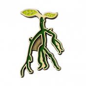 Bowtruckle Pin Badge