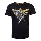 Nintendo - Hyrule Link Men's Small T-Shirt - Black