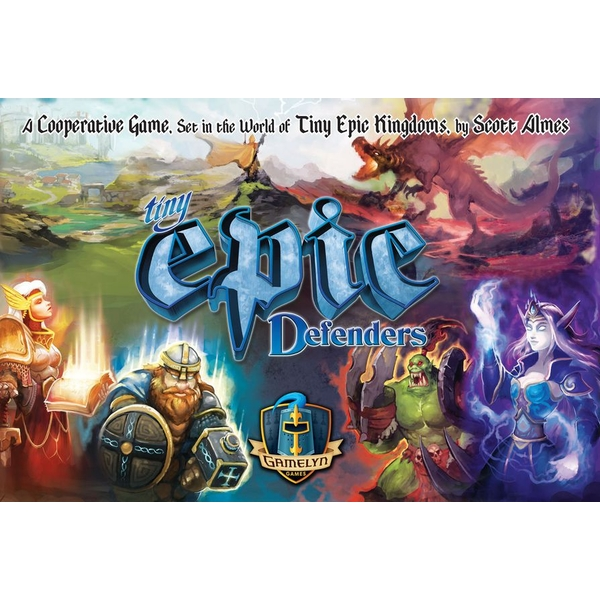 Tiny Epic Defenders (2nd Edition) Board Game