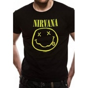 Nirvana Smiley T-Shirt Small