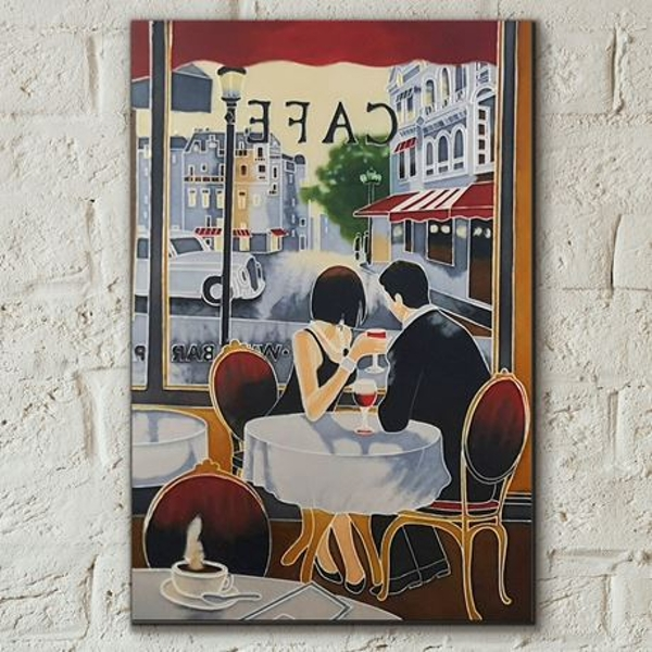 Tile 8x12 After Hours By B Heighton Wall Art