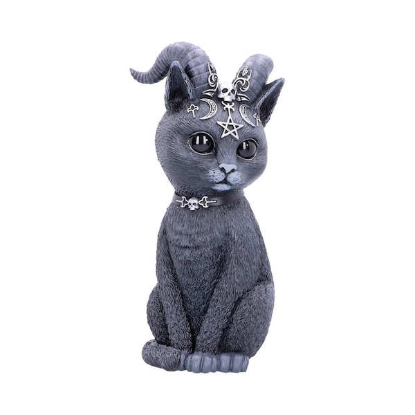 Pawzuph (Large) Horned Cat Figurine