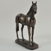 Epsom Dandy by David Geenty Cold Cast Bronze Sculpture 16.5cm