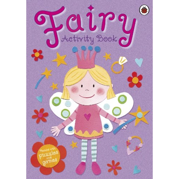 MY FAIRY ACTIVITY BOOK Au Naturel 2012 Paperback