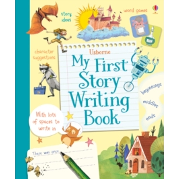 My First Story Writing Book by Katie Daynes, Louie Stowell (Spiral bound, 2015)