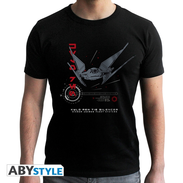 Star Wars - Tie Silencer E8 Men's Small T-Shirt - Black - Image 1