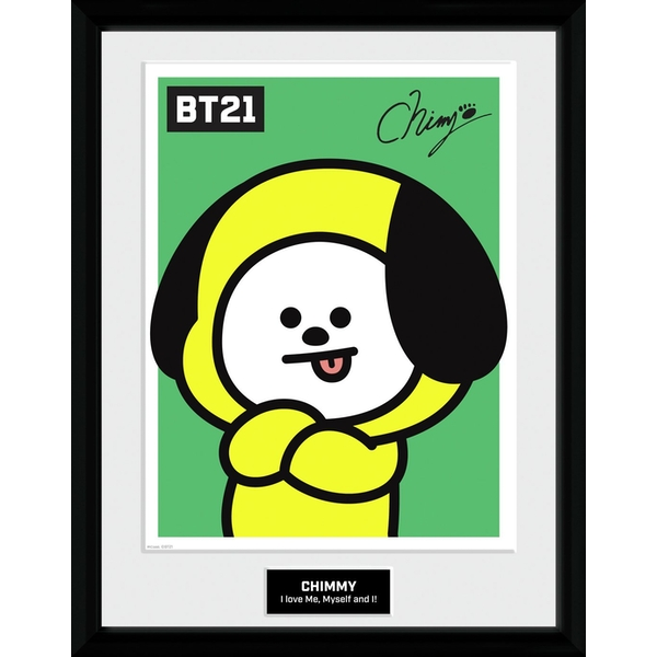 BT21 - Chimmy Collector Print