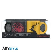 Game Of Thrones - Targa & Barath Espresso Mugs