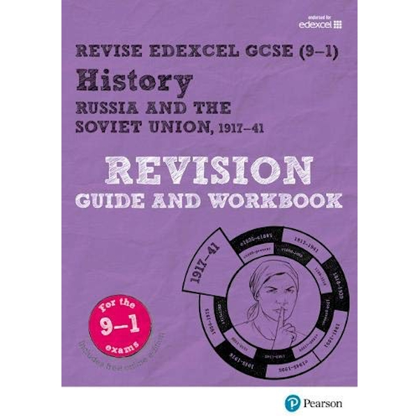 Revise Edexcel GCSE (9-1) History Russia and the Soviet Union Revision Guide and Workbook with free online edition Mixed media product 2017