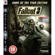 Fallout 3 Game Of The Year Edition (GOTY) Game PS3