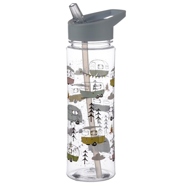 Reusable 550ml Plastic Water Bottle - Wildwood Caravan