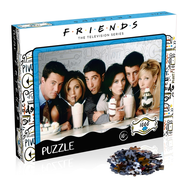 Friends Milkshake Jigsaw Puzzle - 1000 Pieces