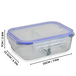 Set of 4 Glass Meal Prep Containers| M&W 3 Compartment - Image 7