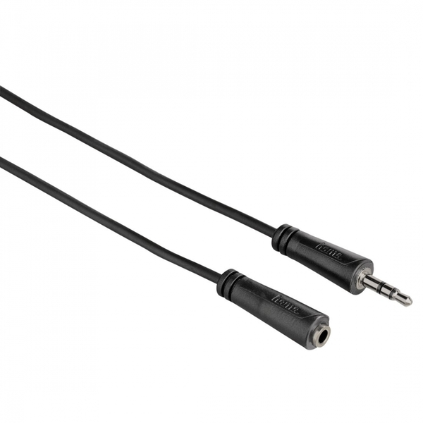 Hama Audio Extension Cable 3.5mm jack plug socket stereo 5m