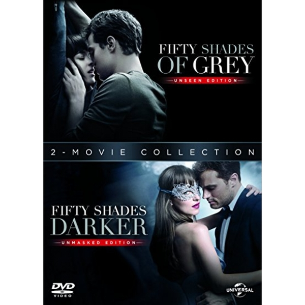 Fifty Shades Darker + Fifty Shades of Grey DVD