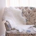 Faux White Sheepskin Rug | M&W - Image 4