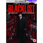 The Blacklist - Season 1-3 DVD