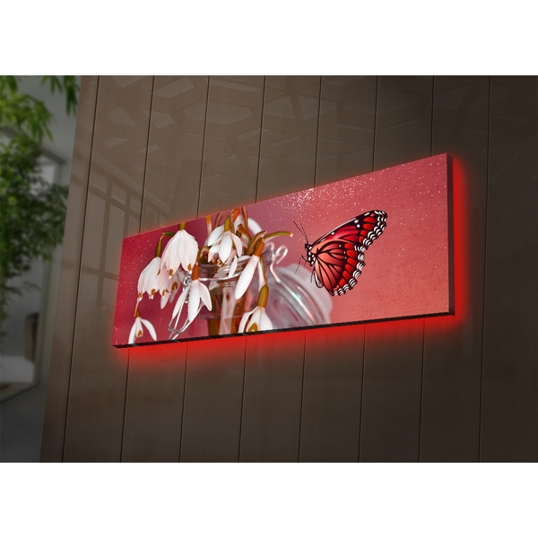 3090DACT-59 Multicolor Decorative Led Lighted Canvas Painting