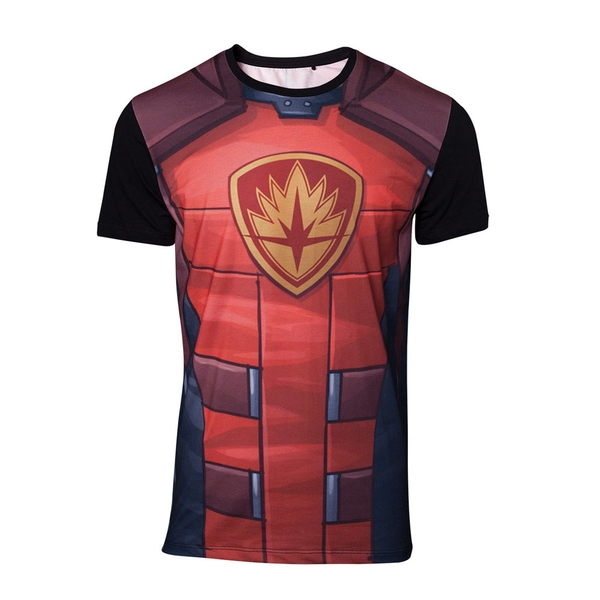 Guardians of the Galaxy - Rocket Raccoon Sublimation Men's Medium T-Shirt - Red