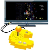 Pac-man Connect & Play Electronic Game