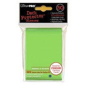 Ultra Pro Standard Lime Green Deck Protector Sleeves Case of 10