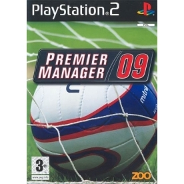 Ex-Display Premier Manager 09 Game PS2 Used - Like New