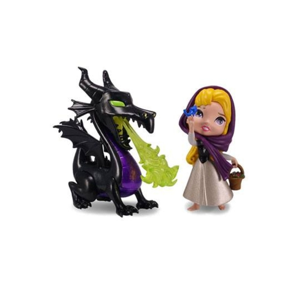 Maleficent & Briar Rose (2 Pack) Disney Metalfigs Diecast Mini Figures