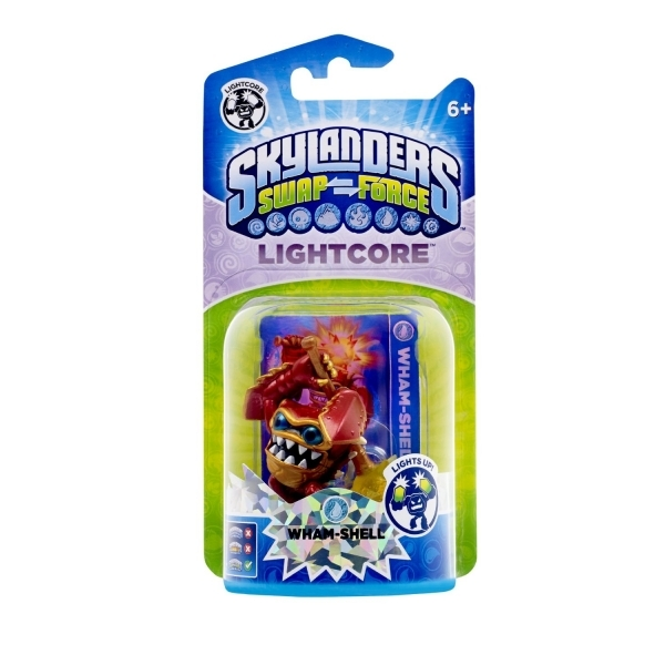 Lightcore Wham Shell (Skylanders Swap Force) Water Character Figure