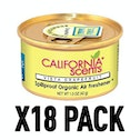 Vista Grapefruit (Pack Of 18) California Scents Spillproof Organic Canister