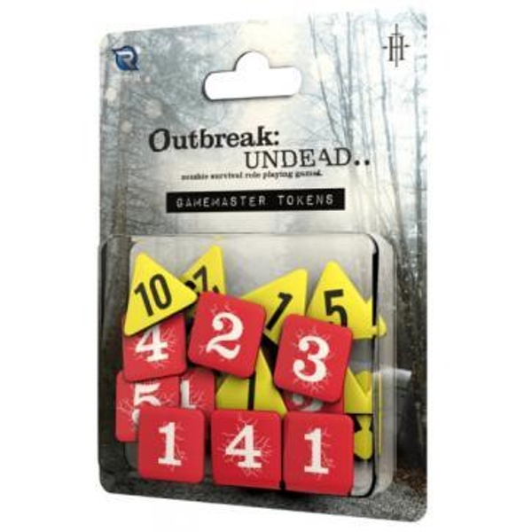 Outbreak Undead 2nd Edition Gamemaster's Tokens The Survival Horror Simulation RPG