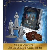 Harry Potter Miniatures Adventure Game Theseus Scamander, Leta LeStrange, Nicolas Flamel Expansion