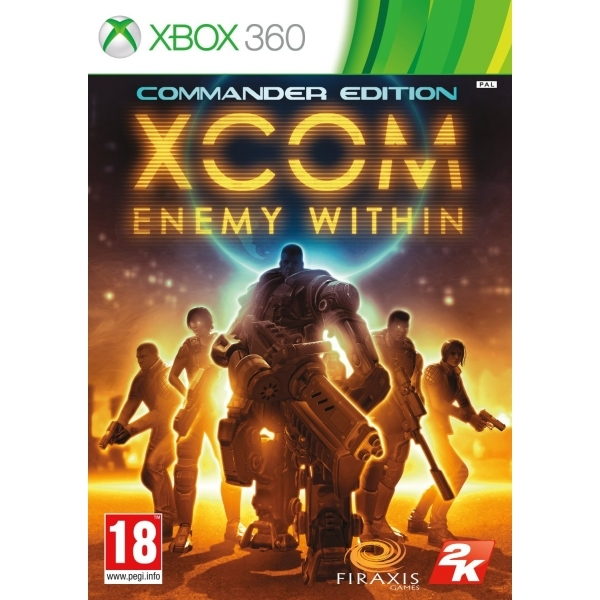 XCOM Enemy Within Commander Edition Game Xbox 360