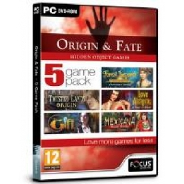 Focus Multimedia Origin and Fate  5 Game Pack Hidden Object Game for PC (DVD-ROM)