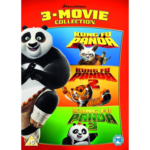 Kung Fu Panda: 3-Movie Collection DVD