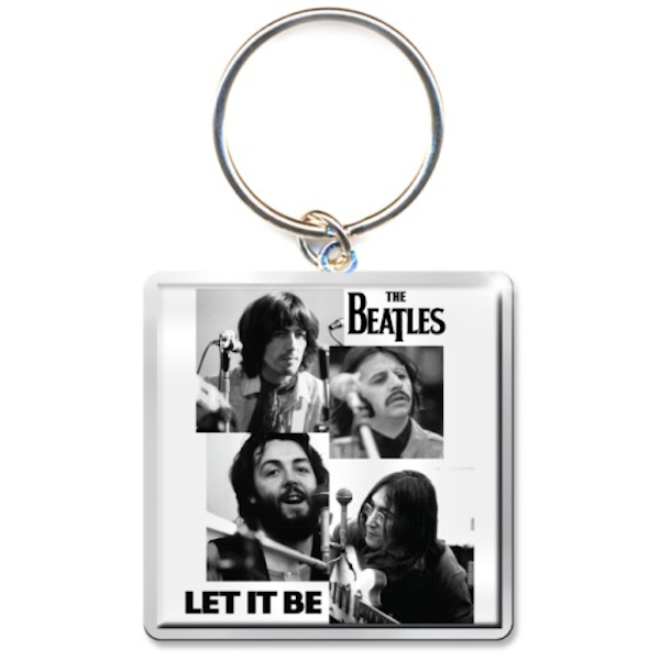 The Beatles - Let it Be Faces Keychain