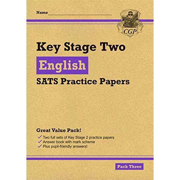 New KS2 English SATS Practice Papers: Pack 3 (for the 2021 tests)  Paperback / softback 2018