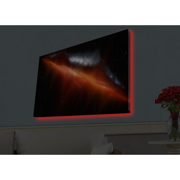 4570HDACT-010 Multicolor Decorative Led Lighted Canvas Painting
