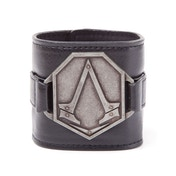 Assassin's Creed Metal Logo PU Wristband