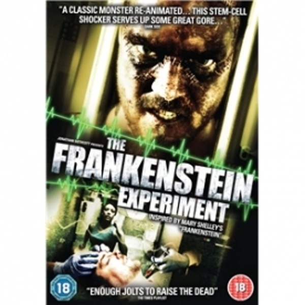 The Frankenstein Experiment DVD