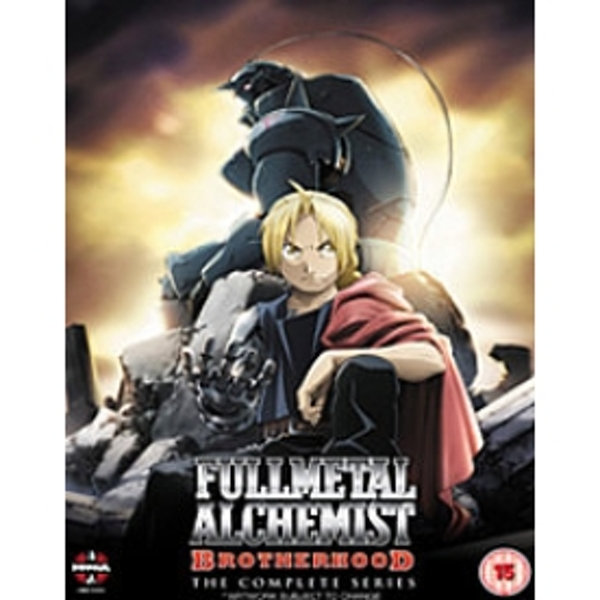 Fullmetal Alchemist Brotherhood Complete Series DVD