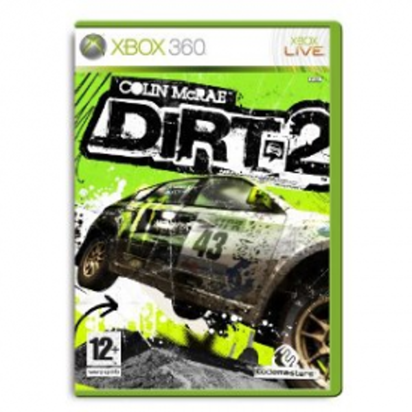 Colin McRae Dirt 2 Game Xbox 360