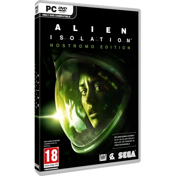 Alien Isolation Nostromo Edition PC Game (Boxed and Digital Code)