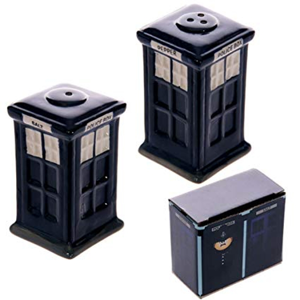 Police Box Salt and Pepper Set