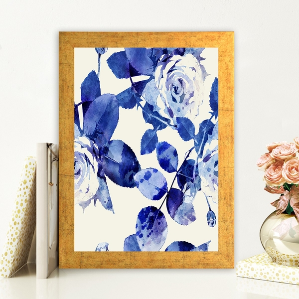 AC168276611 Multicolor Decorative Framed MDF Painting