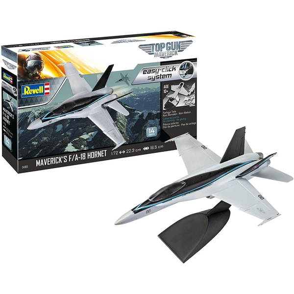 F/A-18 Hornet Top Gun Maverick 1:72 Easy Click Revell Model Kit