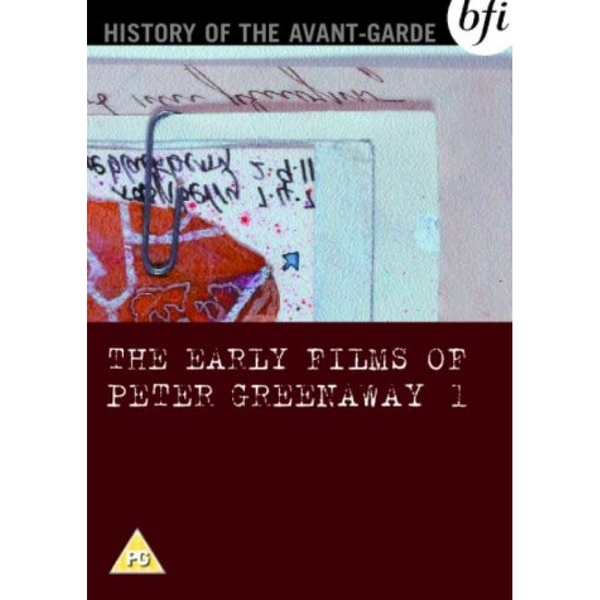 The Early Films Of Peter Greenaway Vol 1 DVD