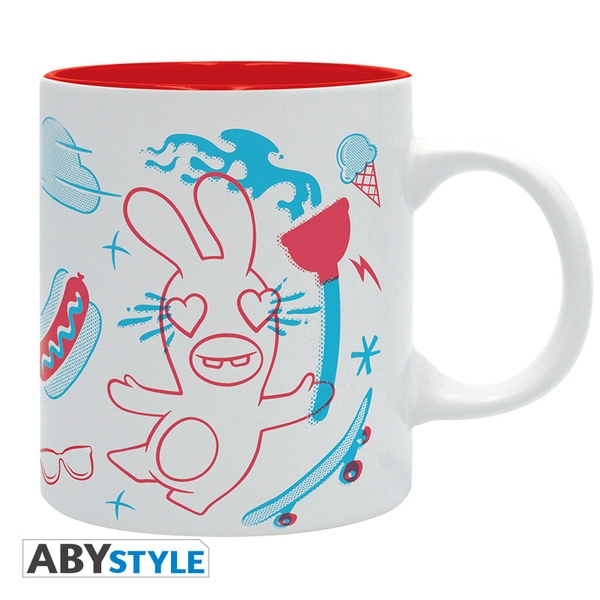 Raving Rabbids - Graphic- Mug